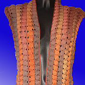 Одежда handmade. Livemaster - original item Cape Red Fox (Red Fox). Handmade.