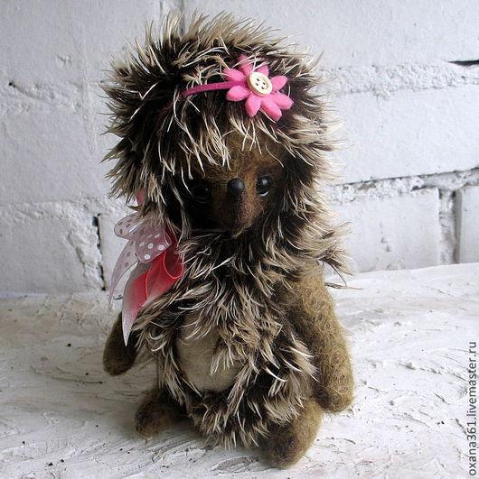 """Мишки Тедди ручной работы. Ярмарка Мастеров - ручная работа. Купить Ежик тедди  """"Ежик Катя"""". Handmade. Игрушка"""