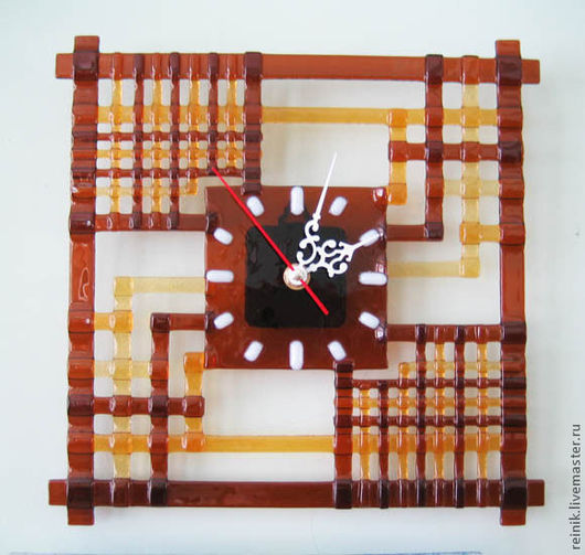 "Часы для дома ручной работы. Ярмарка Мастеров - ручная работа. Купить Часы ""Абстракция"". Handmade. Часы, часы настенные"