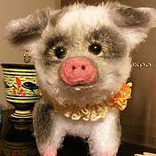 Куклы и игрушки ручной работы. Ярмарка Мастеров - ручная работа Свинка Чунечка. Handmade.