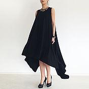 Одежда handmade. Livemaster - original item Womens tunic,tunic dress, long tunic, tunic large size. Handmade.