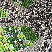 """Для дома и интерьера ручной работы. Ярмарка Мастеров - ручная работа Коврик """"Зеленый друг"""". Handmade."""