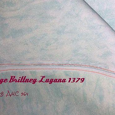 Материалы для творчества ручной работы. Ярмарка Мастеров - ручная работа 3270/1379 Brittney Lugana Vintage. Handmade.
