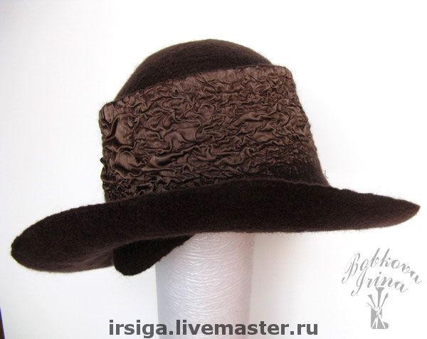 Шляпа из шелка мастер класс  #5