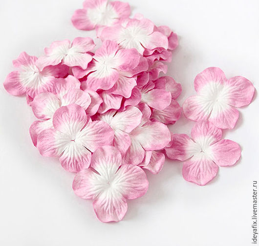 Цена указана за 10 цветочков.  Диаметр цветочков 5 см.