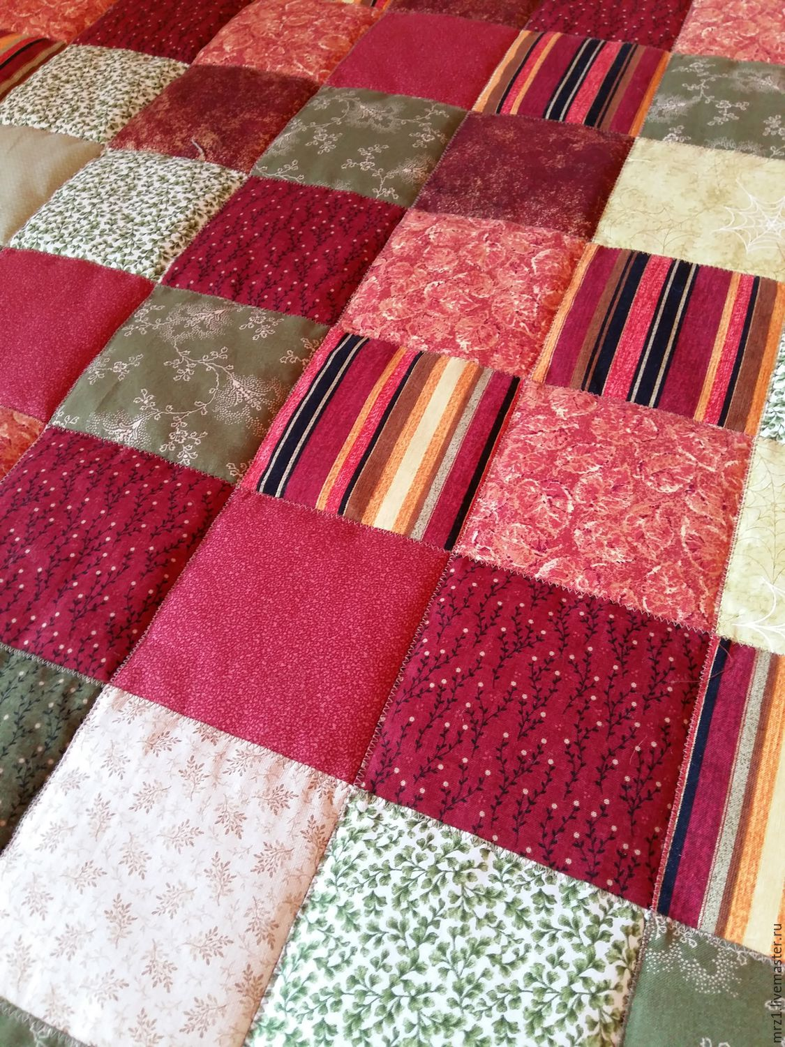 Patchwork quilt, Blanket, Moscow,  Фото №1
