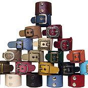Украшения ручной работы. Ярмарка Мастеров - ручная работа кожаные браслеты. Handmade.