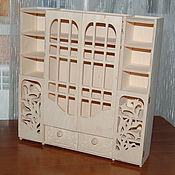 Материалы для творчества handmade. Livemaster - original item Doll locker