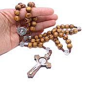 Фен-шуй и эзотерика handmade. Livemaster - original item Luxury rosary Catholic rosary made of wood. Handmade.