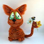 Куклы и игрушки ручной работы. Ярмарка Мастеров - ручная работа Рыжий мартовский кот.. Handmade.