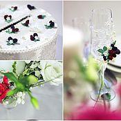 """Свадебный салон ручной работы. Ярмарка Мастеров - ручная работа """"Ягодная"""". Свадьба в ягодном стиле оформление. Свадьба в ягодном цвете. Handmade."""