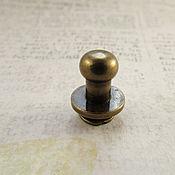 Кнопки ручной работы. Ярмарка Мастеров - ручная работа Кобурная кнопка 811 антик 7мм. Handmade.