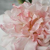 Украшения handmade. Livemaster - original item Silk flowers. Rose