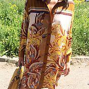 """Одежда ручной работы. Ярмарка Мастеров - ручная работа Дизайнерское платье-рубашка""""Гуччи"""". Handmade."""