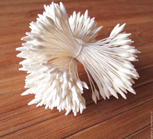 Японские тычинки заостренные. `САКУРА` - материалы для цветоделия.