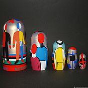 Русский стиль handmade. Livemaster - original item Matryoshka Malevich (option). Handmade.