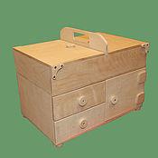 Для дома и интерьера ручной работы. Ярмарка Мастеров - ручная работа Шкатулка 400х260х320. Handmade.
