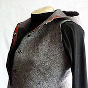 Одежда ручной работы. Ярмарка Мастеров - ручная работа Валянная одежда. Handmade.