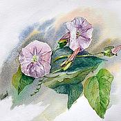 Картины и панно handmade. Livemaster - original item watercolor. Eel. Handmade.