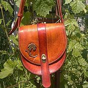 """Классическая сумка ручной работы. Ярмарка Мастеров - ручная работа Женская кожаная сумка """"Ирис"""". Handmade."""
