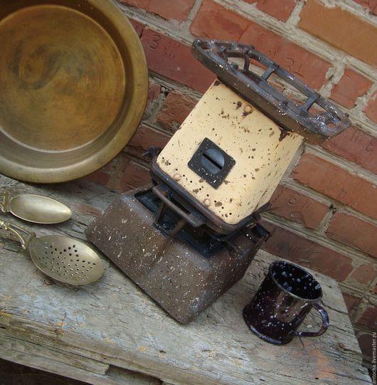 """Кухня ручной работы. Ярмарка Мастеров - ручная работа. Купить Керосинка  """"Коммунальная квартира"""". Handmade. Комбинированный, интерьер, металл"""
