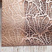 """Материалы ручной работы. Ярмарка Мастеров - ручная работа Текстурный лист медь латунь """"Ботаника"""" 2 варианта. Handmade."""