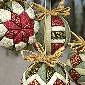 Подарки к праздникам handmade. Livemaster - original item a set of balls on NG. Handmade.