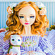 Collectible handmade doll, OOAK doll, art doll, Dolls, Nizhny Novgorod,  Фото №1