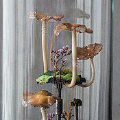 Для дома и интерьера ручной работы. Ярмарка Мастеров - ручная работа Грибной флорариум высокий. Handmade.