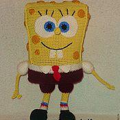 Куклы и игрушки ручной работы. Ярмарка Мастеров - ручная работа Губка Боб Квадратные штаны. Handmade.