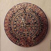 Для дома и интерьера ручной работы. Ярмарка Мастеров - ручная работа часы Календарь Майя. Handmade.