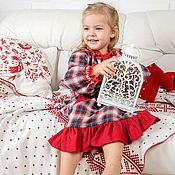 Работы для детей, handmade. Livemaster - original item Dress-nightie for girls. Handmade.