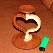 Для дома и интерьера ручной работы. Ярмарка Мастеров - ручная работа подсвечник в форме сердца. Handmade.