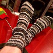 Аксессуары ручной работы. Ярмарка Мастеров - ручная работа Вязаные носки. Handmade.