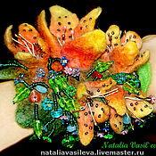 Украшения handmade. Livemaster - original item Felted bracelet