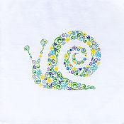Одежда handmade. Livemaster - original item T-shirt painted