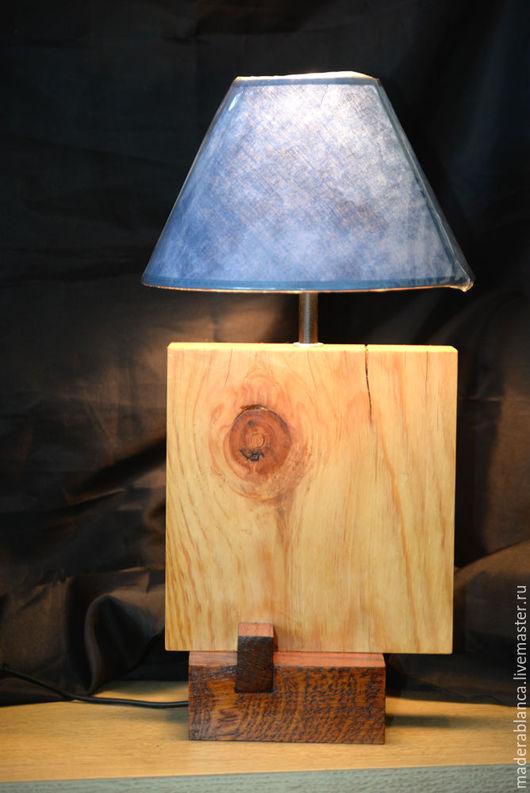 """Освещение ручной работы. Ярмарка Мастеров - ручная работа. Купить Лампа """"Куб"""", основание. Handmade. Бежевый, дачный, уютная кухня"""