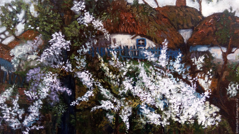 Imagen de la Primavera na kazachyem el caserío de Enmarcado – compra ...