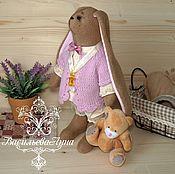 Куклы и игрушки ручной работы. Ярмарка Мастеров - ручная работа Зайка Лапушка. Handmade.