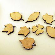 Материалы для творчества ручной работы. Ярмарка Мастеров - ручная работа Декоративные листья. Handmade.