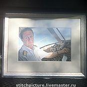 Картины и панно ручной работы. Ярмарка Мастеров - ручная работа Первым делом - самолеты. Handmade.