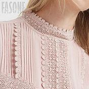 """Одежда ручной работы. Ярмарка Мастеров - ручная работа Платье розовое """"Valencia"""" Розовое платье Розовое платье Розовое платье. Handmade."""