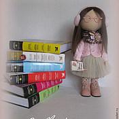 Куклы и игрушки handmade. Livemaster - original item Interior Textile doll Copyright the student.. Handmade.