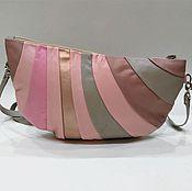 "Сумки и аксессуары handmade. Livemaster - original item Handbag ""the Sands of time pink"",leather as a gift on March 8,powdery. Handmade."