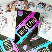 Активный отдых и развлечения handmade. Livemaster - original item Metaphorical cards