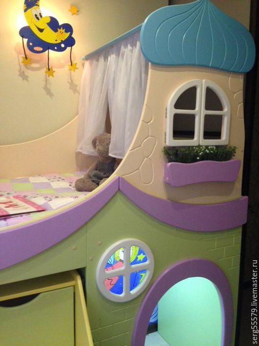 """Детская ручной работы. Ярмарка Мастеров - ручная работа. Купить Проект """"Маленький домик"""". Handmade. Комбинированный, крыша, мебель для детской"""