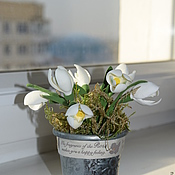 Цветы и флористика ручной работы. Ярмарка Мастеров - ручная работа напоминание о весне. Handmade.