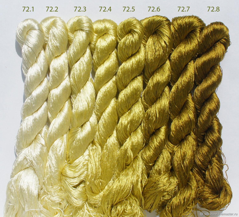 Шелковые нитки для вышивания 37