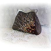 Сумки и аксессуары handmade. Livemaster - original item Handmade brown bag. Handmade.