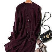 Одежда handmade. Livemaster - original item Cardigan cashmere 100%. Handmade.